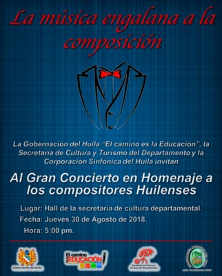 Homenaje a compositores huilenses